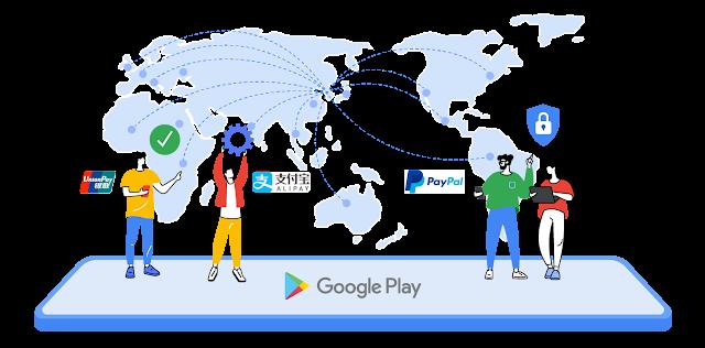 구글플레이는 전 세계 개발사들을 전 세계 소비자와 연결해주고 있습니다.
