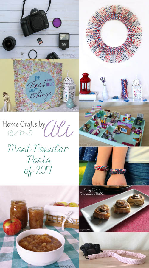 Most Popular Posts of 2017 on Home Crafts by Ali