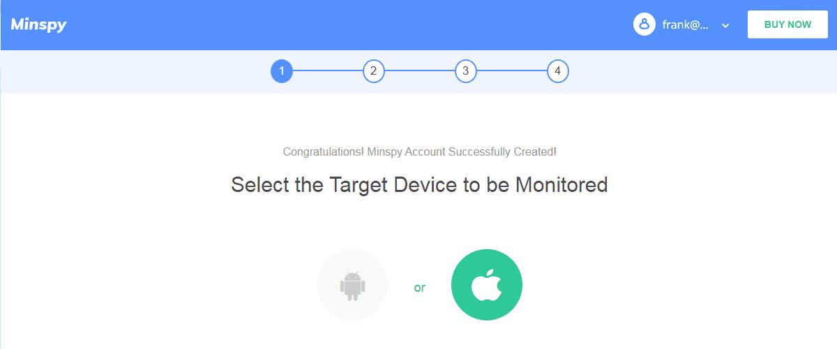 Minispy select iPhone
