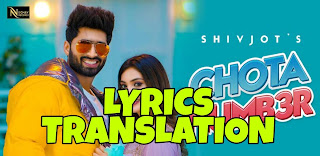 Chota Number Lyrics in English   With Translation   – Shivjot