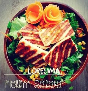 loresima soguk sandvic salata evi canakkale hellim salata