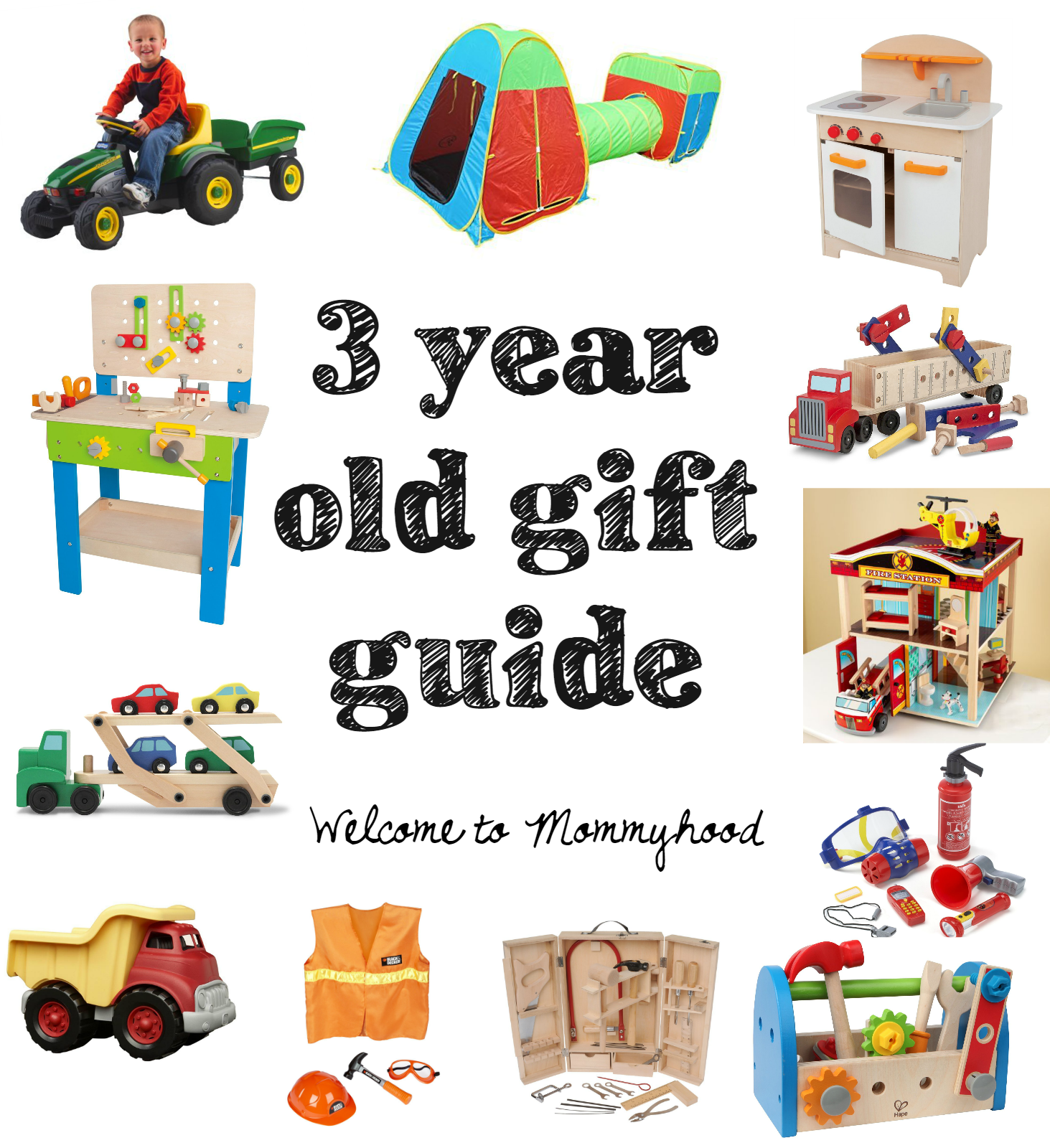 Gift Guide For Three Year Old Boys From Welcome To Mommyhood Giftguide Toddlergiftguide