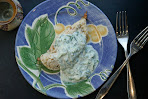 Green Chicken with Tzatiki