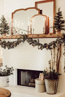Unique Christmas Decor for Mantel
