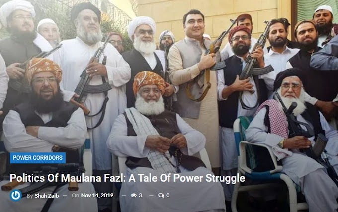 Governmental issues Of Maulana Fazl: A Tale Of Power Struggle