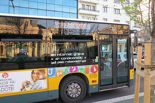 736 Lisbon Bus, Lisbon, Portugal.