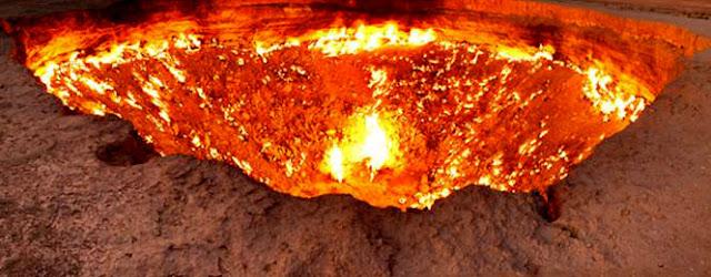 bumi untuk menuju ke neraka (Mitos)