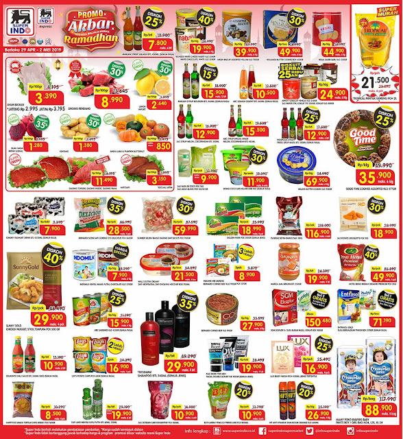 #Superindo - #Promo #Katalog Promo Akbar Ramadhan Periode (29 - 02 Mei 2019)