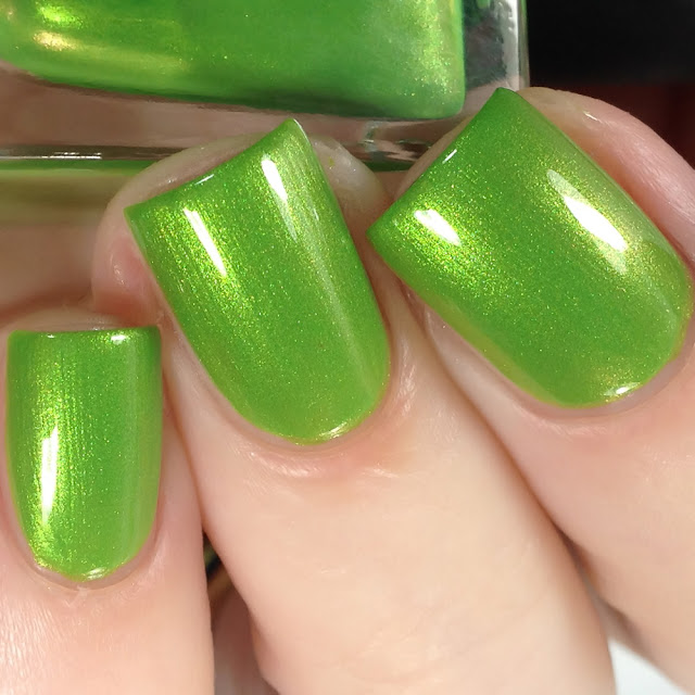Night Owl Lacquer-The...The...THE GRINCH!