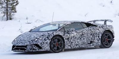 2018 Lamborghini Huracan Superleggera Spy Shots