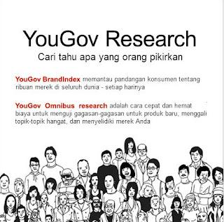 Yougov Paid survey yang Legit - YouGov merupakan salah satu situs yang membayar jasa anda ketika anda diberikan sebuah survey dan anda dapat menyelesaikan survey tersebut