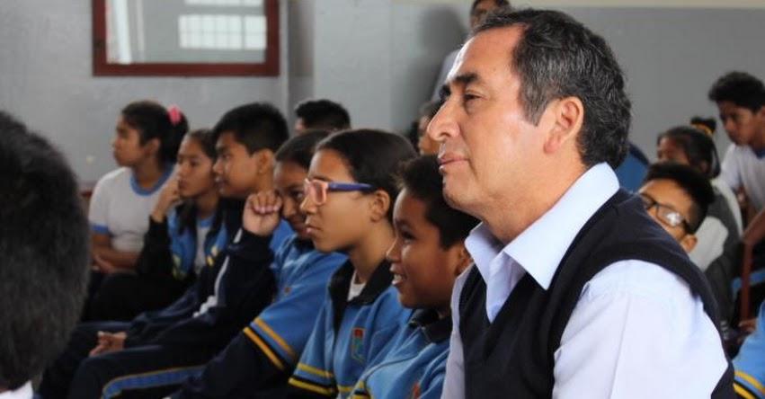 Continúa Ciclo de Charlas contra el crimen organizado en Colegios del Callao