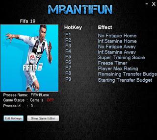 Download FIFA 19 Trainer
