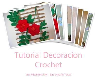 Cuadro Decorativo de Crochet