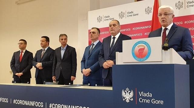 Confermati in Montenegro i primi due casi di coronavirus