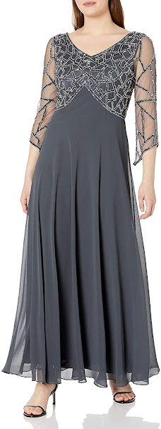 Pretty Grey Mother of The Bride Dresses