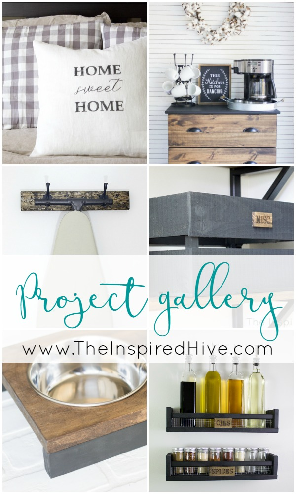 Tons of easy DIY home decor project ideas!