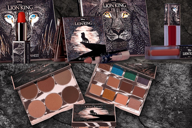The Lion King makeup Collection