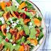 Chicken Fajita Salad with Spicy Avocado Dressing