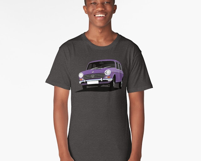 British automobile t-shirt morris 1800 or 2200