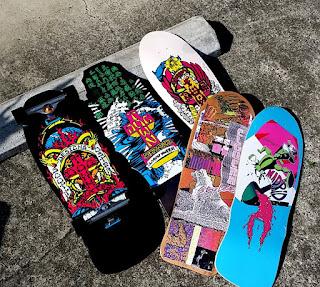 ドックタウンカービングクルーザースケートボードはドックタウンとマドリッドからデッキ選択可能