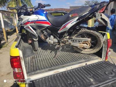 RP prende homem e apreende motocicleta adulterada em Santana do Ipanema
