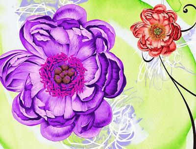 diseños-cuadros-faciles-flores
