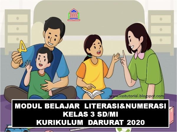 Modul Pembelajaran Jarak Jauh Kelas 3 SD Kurikulum Darurat Tahun 2020
