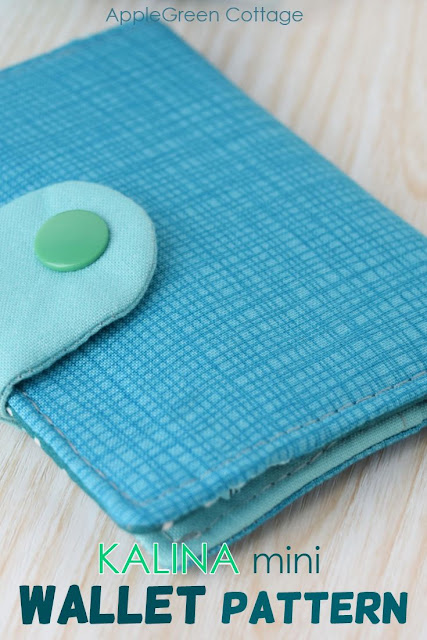 Wallet sewing pattern