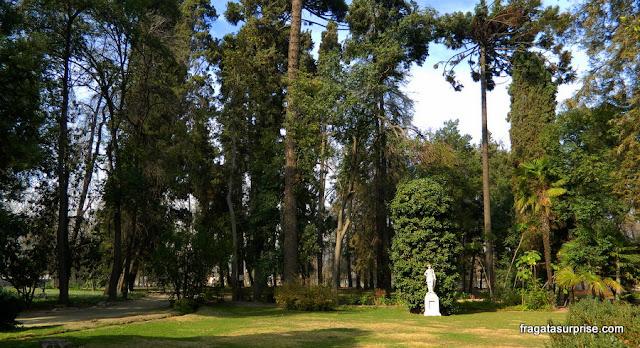 Jardins da Vinícola Concha y Toro