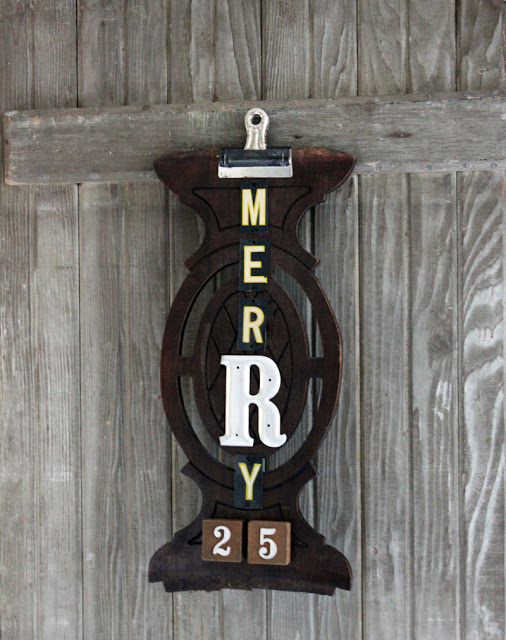 Merry Sign Christmas- Itsy Bits And Pieces