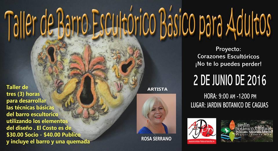 Asociaci n de artistas pl sticos de puerto rico taller de for Actividades jardin botanico caguas