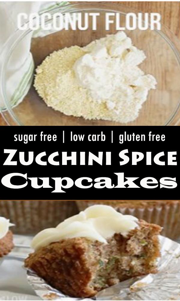 Zucchini Spice Cake Cupcakes  #Zucchini #Spice #Cake #Cupcakes  #ZucchiniSpiceCakeCupcakes