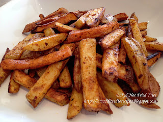 Baked Not Fried Fries | Addicted to Recipes