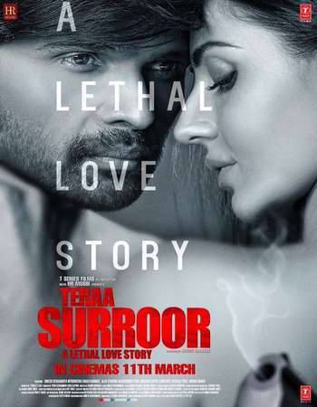 Poster Of Teraa Surroor 2016 Hindi 700MB DVDScr x264 Free Download Watch Online