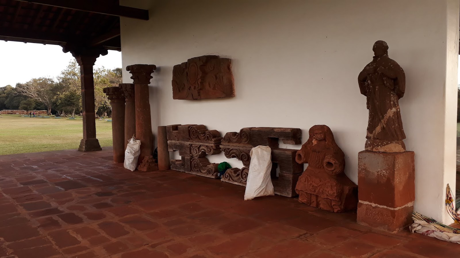 Acervo externo do Museu das Missões Jesuíticas