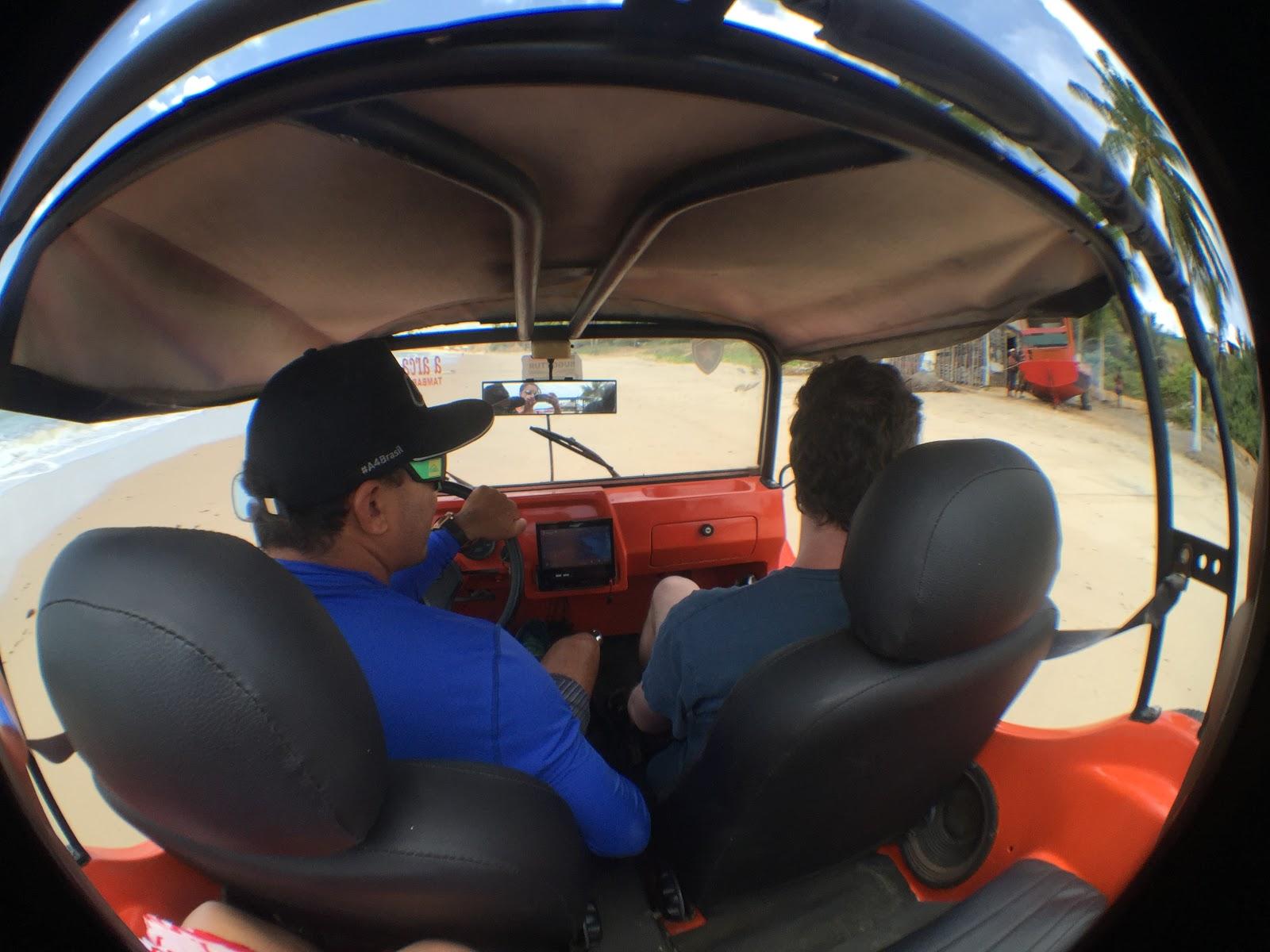 passeio de buggy litoral paraiba