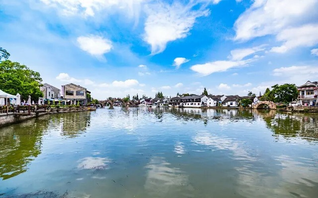 เมืองโบราณจูเจียเจี่ยว (Zhujiajiao Ancient Town: 朱家角)