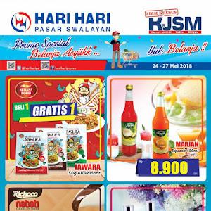 Katalog Promo Hari Hari Swalayan Weekend 24 - 27 Mei 2018