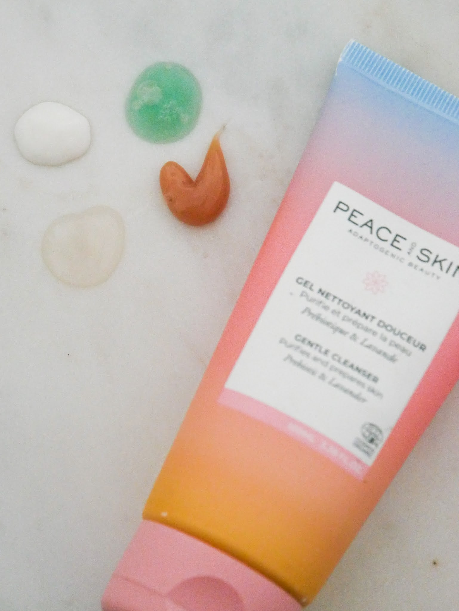 peace and skin