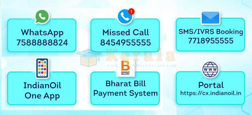 Indian Oil smart booking modes all