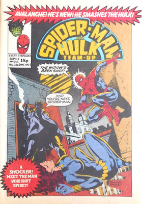 Spider-Man and Hulk Team-Up #443, the Black Widow