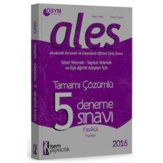 İsem Yayıncılık ALES 5 Çözümlü Deneme Sınavı (2016)
