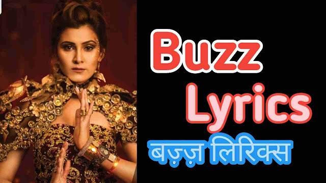 BUZZ LYRICS - Badshah | Aastha Gill
