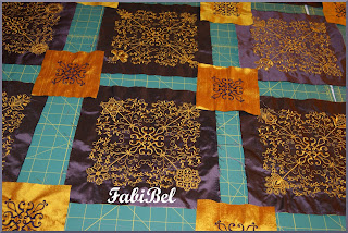quilting king size quilt with sewing machine