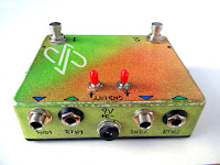True-Bypass Effects Loop Switcher, dual loop, with Ground Lifts