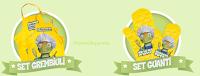 Logo Crea il tuo Sofficino Findus e Carletto di premia con grembiuli e guanti