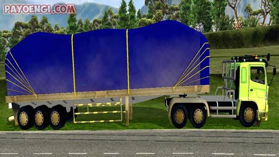 mod hino 500 trailer muatan siba surya v1