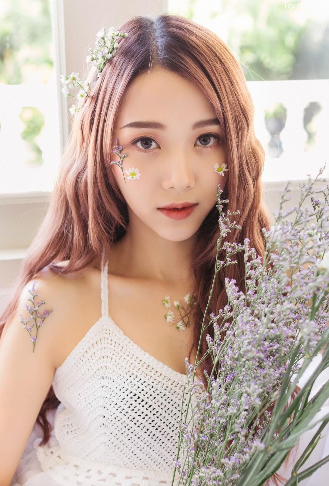 Thailand beautiful model Popor Saechur with photo album Little Princess - Picture 5