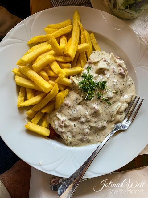 Jägerschnitzel Restaurant Dornröschenshöh
